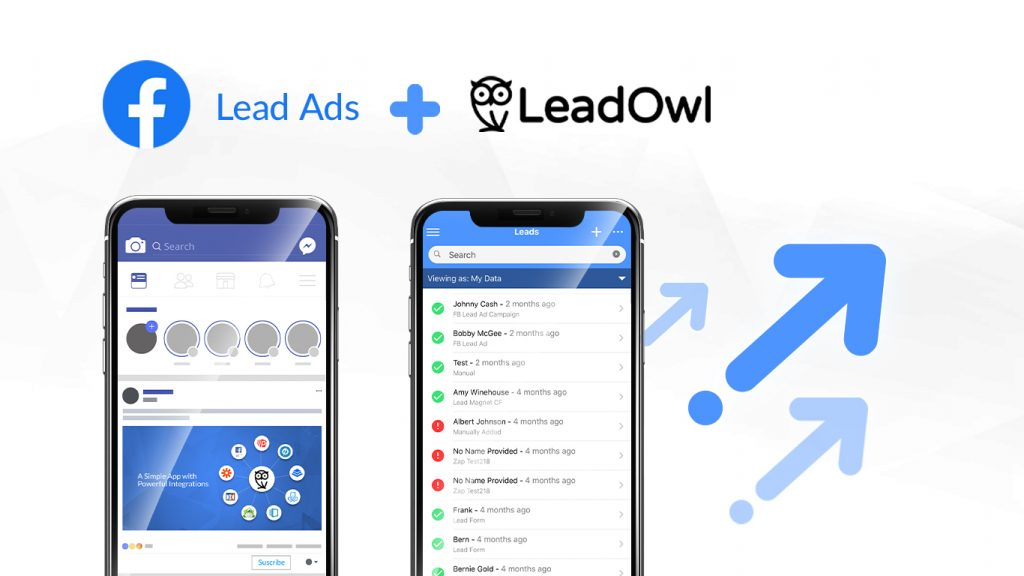 Facebook Lead Ads to LeadOwl