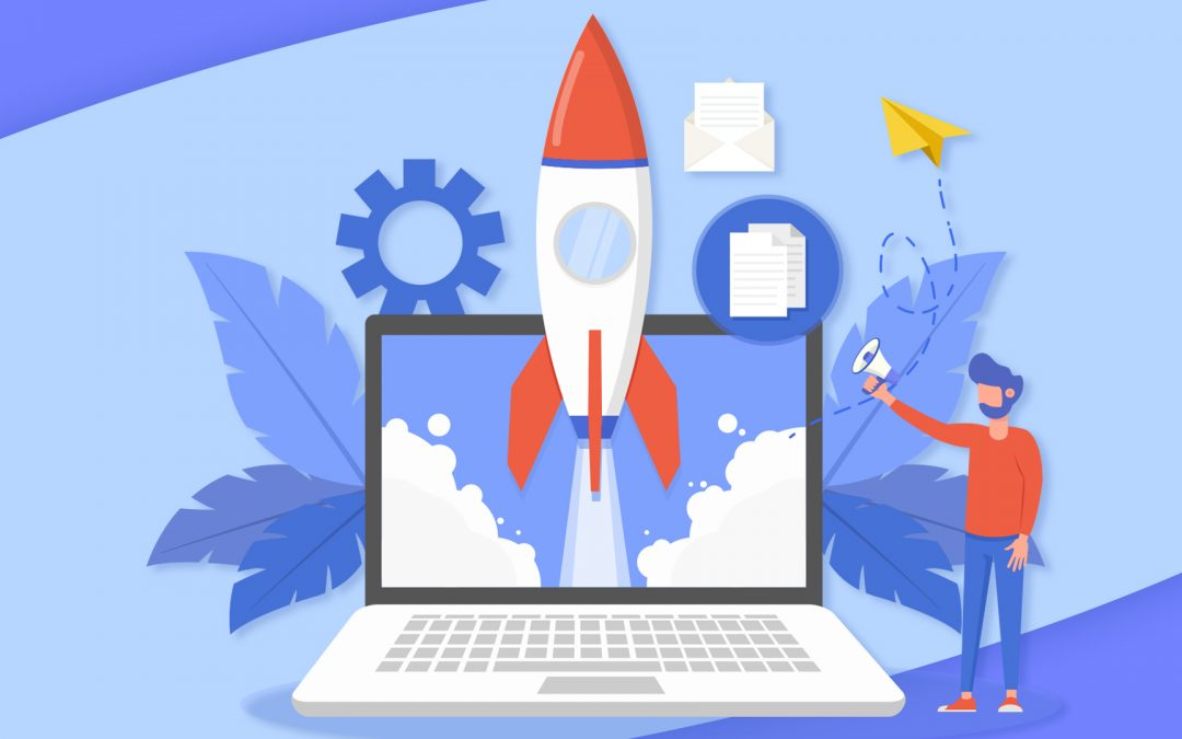 A marketing plan is like a rocket boosting your online business